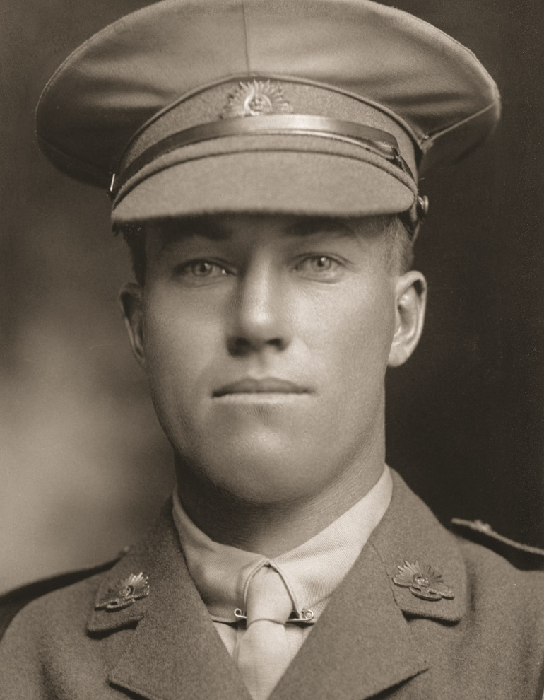 Lieutenant Bertram Atkinson 1888 – 1915 (Courtesy of the Australian War Memorial H05617)