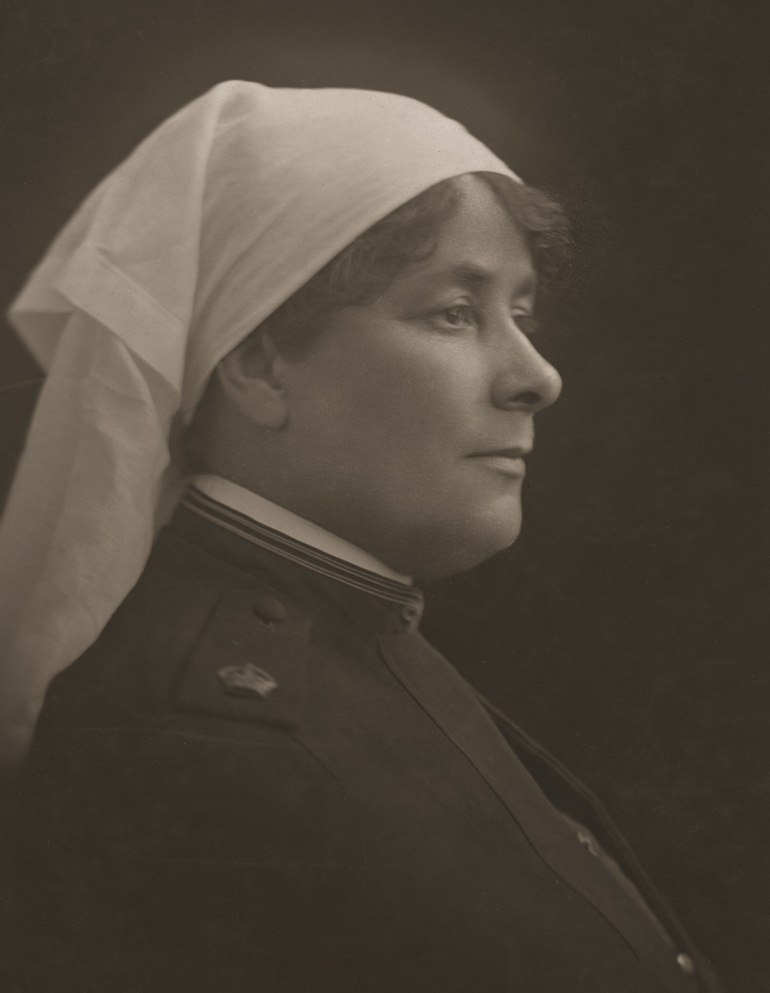 Ethel Attiwill 1877 – 1942 (Courtesy of the Australian War Memorial H06179)
